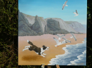 Toby and The Herring Gulls